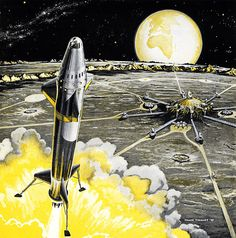 Nuclear Rocketship by Frank Tinsley, 1959 | Flickr - Photo Sharing!