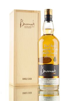 Distilled in 2000, this Benromach single malt Scotch whisky was matured in first fill bourbon cask #757 until 2016. A distillery exclusive and one of only 238 bottles filled at cask strength, 55.7%.