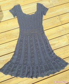 Моя попытка воссоздать оригинал платья от Диас.