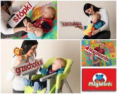 8 cm Literki Magnetyczne dla Dzieci -  ALFABETY w MagWords® - More than Words na DaWanda.com