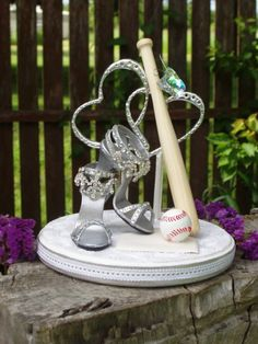 find this pin and more on i do baseball and shoes wedding cake topper