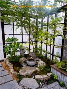 Corner Rock Garden Design Ideas To Beautify Your Backyard Japanese Garden Landscape, Small Japanese Garden, Japanese Garden Design, Japanese Gardens, Japanese Garden Backyard, Japanese Style, Asian Garden, Zen Garden Design, Landscape Design
