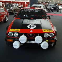 automotivated: Alfa Romeo GTV 6 / Gruppo 4 (1980) (en moulinette)