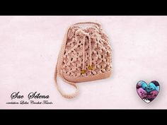 "Concours! Sac SÉLÉNA Crochet ""Lidia Crochet Tricot"" Facile - YouTube Crochet Market Bag, Crochet Tote, Crochet Blouse, Selena, Lidia Crochet Tricot, My Works, Crochet Earrings, Pendant Necklace, Tote Bag"