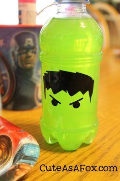 Marvel Avenger's themed Food- Hulk Punch