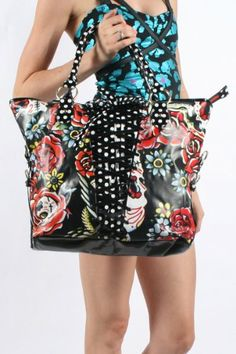 Amazon.com: Iron Fist - Womens Hooters Handbag in Black, Size: O/S, Color: Black: Clothing