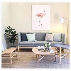 #regram from @thehiredhome featuring 'Frank the Flamingo'