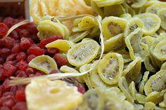 preparar frutas secas