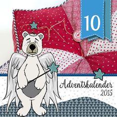 Sternkissen DIY-Tutorial von Pattydoo - Adventskalender - Türchen Nr.10