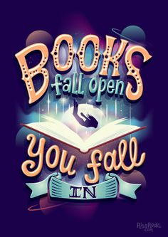 Books fall open, you fall in (9/?) Prints, shirts, pillows, and more: RB // S6 // TeePublic