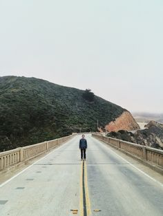 Jacob at Bixby Canyon Bridge.  | Ben Schuyler | VSCO Grid®