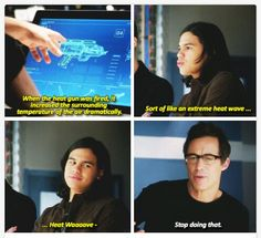 The Flash - Cisco and Wells #1.10 #Season1. Knowing what I know, Wells really shouldn't be my favorite character, but...