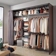 160 more and more popular custom wardrobe design - page 5 > Homemytri. Bedroom Closet Design, Home Room Design, Wardrobe Design, Closet Designs, Bedroom Decor, Dressing Room Closet, Dressing Room Design, Open Wardrobe, Wardrobe Closet