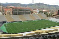 CU Boulder Folsom Field. Made famous when an egg from Ork lands and out pops Mork.  I was in the stadium club this week for a presentation by NASA's Charles Bolden. Featured in my post: http://www.boulderrealestatenews.com/find-real-estate-for-sale-in-boulder/