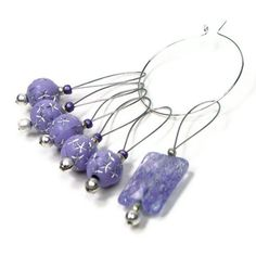 Beaded Stitch Markers Set Knitting Snag Free by TJBdesigns on Etsy, $7.50