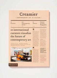 Creamy Creamier Art Newspaper | MyDesy ADS inspiration