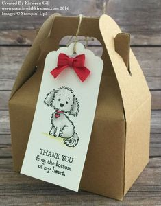 Bella Thank You Treat Bags For Volunteers - Creatin' With Kirsteen
