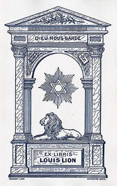 Ex Libris Louis Lion