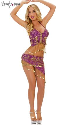 belly dancing costume Skimpy
