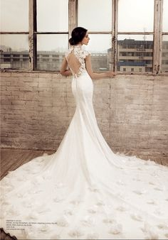 Beautiful wedding dress #amazing #mermaid #dress