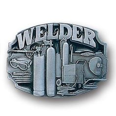 """Checkout our #LicensedGear products FREE SHIPPING + 10% OFF Coupon Code """"Official"""" Welder Tools Enameled Belt Buckle - Officially licensed Siskiyou Originals product Fully cast, metal buckle Bail fits belts up to 2 inches wide Exceptional detail with an enameled finish  - Price: $21.00. Buy now at https://officiallylicensedgear.com/welder-tools-enameled-belt-buckle-c80e"""