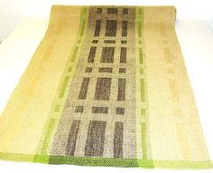Linen Table Runner Hand Woven by WovenProducts on Etsy, $98.00
