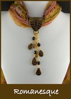 Silk Scarf Jewelry - 2goodclaymates