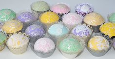 The Cupcake Art Collection - Quality lace edging and finishes for all cake types.