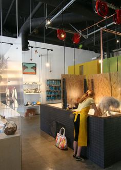 Studio Anderson Architects Pet Store Dog Wash
