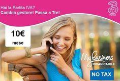 [NUOVA OFFERTA] Sim Ricaricabile Unlimited 10€ al mese! ● 7 GB di Internet ● Minuti illimitati in Italia e all'estero ● 400 Sms Compila SUBITO con i tuoi dati il modulo che trovi cliccando sul link sottostante. ATTENZIONE: L'Offerta può essere attivata solo se hai la PARTITA IVA e solo se non sei già cliente 3.  http://www.megasite.it/unlimited/   #Tariffe #3Italia #Telefonia #Offerte #Smartphone #SMS #Internet #Promozioni #business #tre #aziende #pmi #iphone #future #iphone7