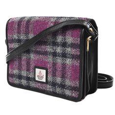 98c9199dc75a Cross Body Bag is a ladylike twist on the classic cross body saddle bag… Scottish  Creations