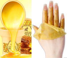 Image result for Brands Milk Honey Nourishing Paraffin Wax Hand Mask Moisturizing Whitening Skin Care