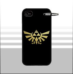 iPhone 5/4/4s & Galaxy S3 Phone Case - Zelda Triforce. $15.95, via Etsy.
