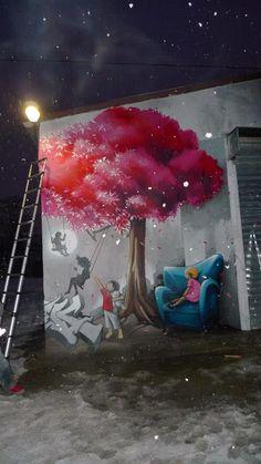 Artist :PakOne #streetart.....#hiphop #beats updated daily => http://www.beatzbylekz.ca