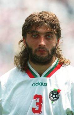 BULGARIA Bulgaria, Euro 96, Hot Guys, Hot Men, Fifa World Cup, Football Players, Kicks, Soccer, Fashion Hair