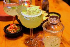 The most epic, best, and cheapest margaritas in Las Vegas… and the one you drink out of a guitar