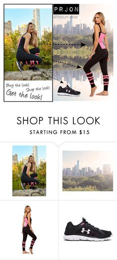 """""""Shop The Look Prjon athleisure wear"""" by fashionoutletny on Polyvore featuring Under Armour, women's clothing, women's fashion, women, female, woman, misses and juniors"""