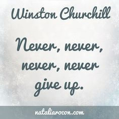 Motivational Quotes: Winston Churchill