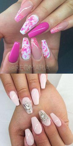 2016 Nail Trends - 101 Pink Nail Art Ideas