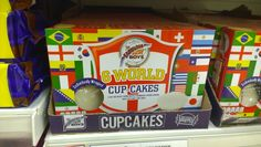 Fabulous Bakin' Boys World Cup World Cup Winners, World Cup 2014, Cupcakes For Boys, Packaging, Inspiration, Biblical Inspiration, Wrapping, Inspirational