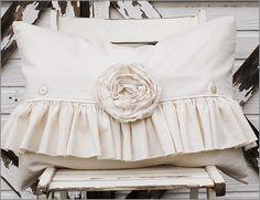 muslin pillow