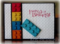 We made this card at my Beachmere Class this week. It was inspired by a card I saw on Pinterest by Melissa Davies. I loved the way she had stacked the blocks on the front of her card. The Whisper…