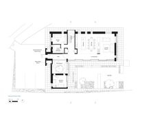 Image 11 of 22 from gallery of House 19 / Jestico + Whiles. Photograph by Grant Smith Ground Floor Plan, International Style, Modern House Design, House Floor Plans, Design Inspiration, Flooring, How To Plan, Architecture, Gallery