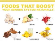 Immune boosters!