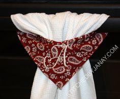 Stitched By Janay: Stay Put Towel news!
