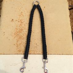 Paracord Dog Leash Coupler by EpicCustomCreations on Etsy, $15.00
