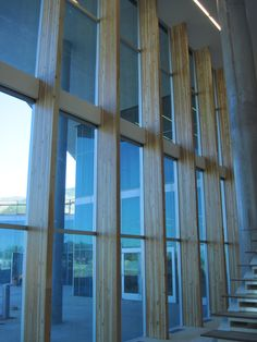 Sorenson Molecular BioTech, LEED (photo by J. Robertson - glulam)