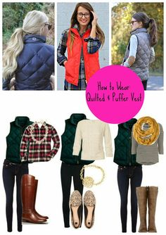 HOLY CHIC: Chic Styling: Quilted & Puffer Vest
