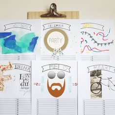 Craftkalender - Hoe Vedder - living & lifestyle
