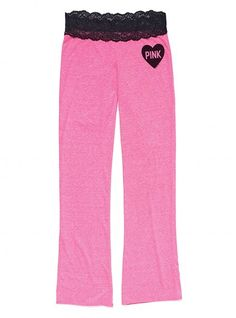 Have these. luv them. Cute & Comfy VS PINK Lace Pants :D